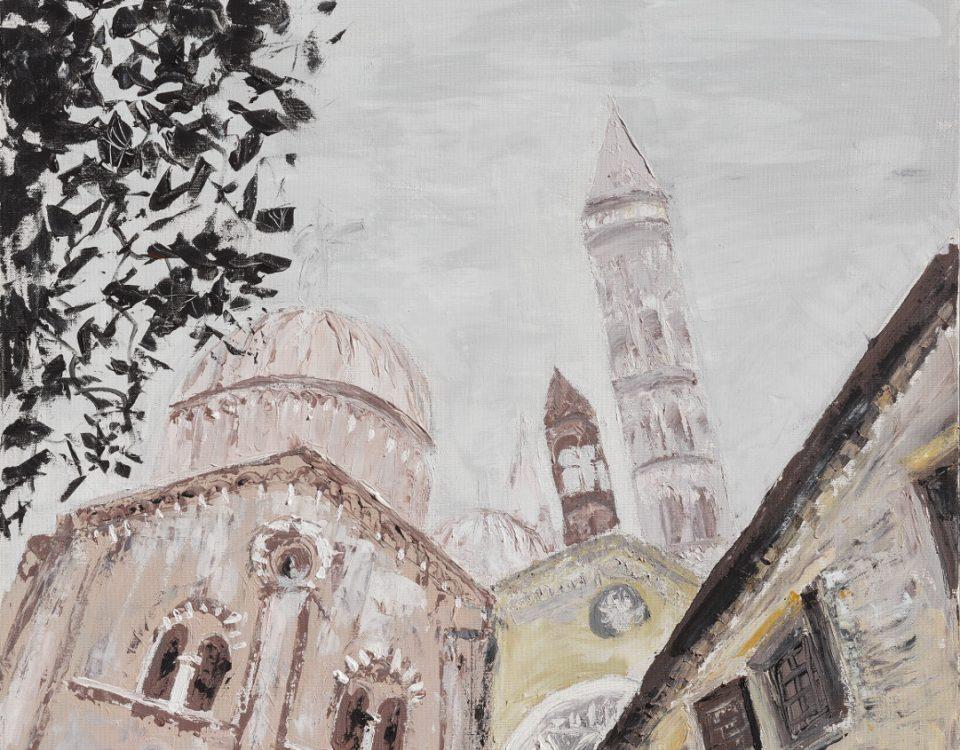 Cleofe Ferrari Padova nebbia al santo