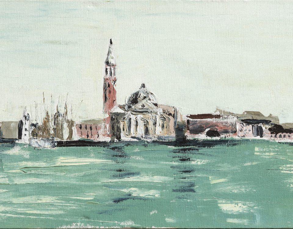 Cleofe Ferrari Venezia isola di San Giorgio