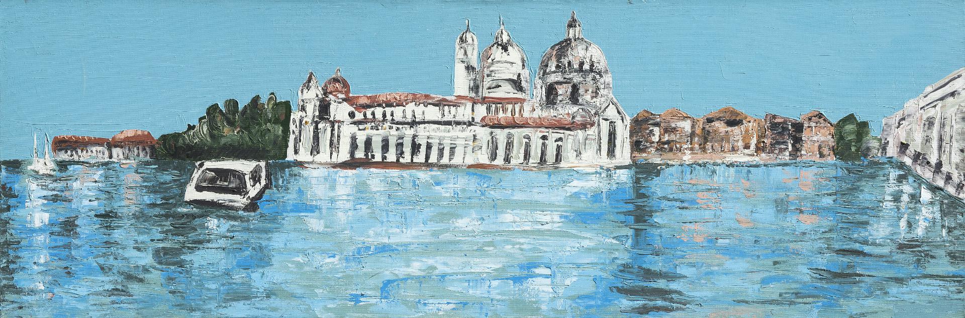 Venezia, Punta della Dogana con la Salute